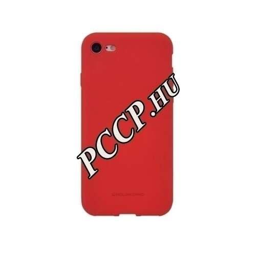 Apple Iphone 6S piros szilikon hátlap