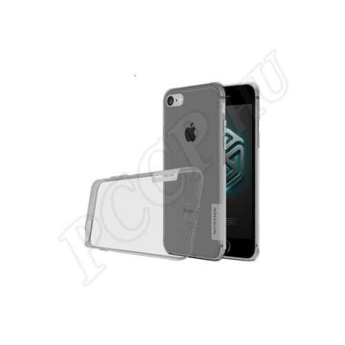 Apple iPhone 8 fekete-átlátszó hátlap