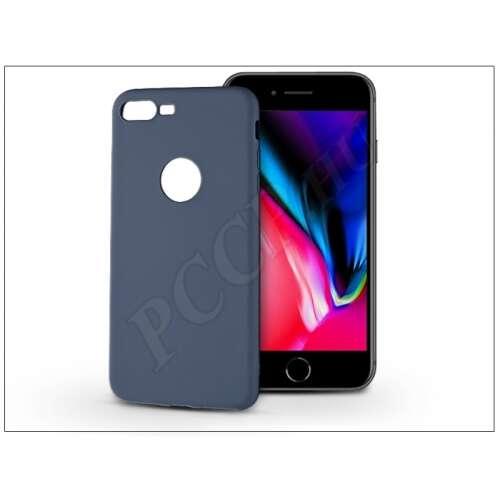 Apple Iphone 8 Plus kék szilikon hátlap