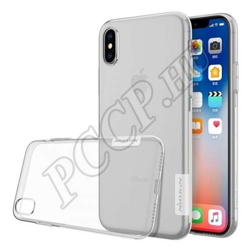 Apple iPhone X átlátszó hátlap
