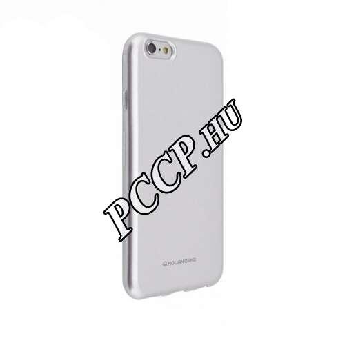 Apple Iphone X ezüst szilikon hátlap