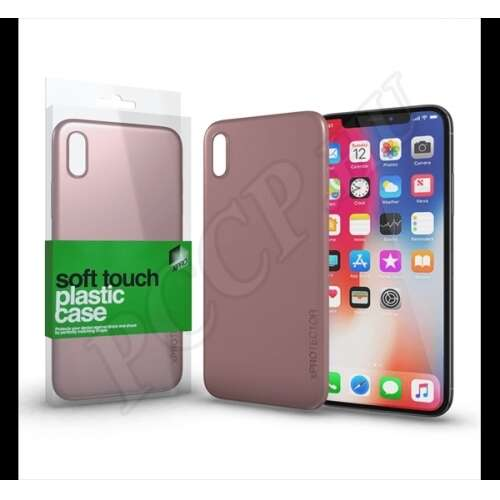 Apple iPhone X rozé arany hátlap - Xprotector