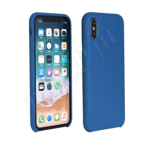Apple iPhone Xs Max kék hátlap