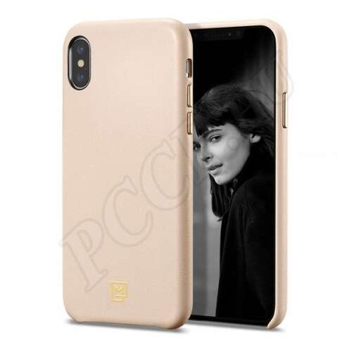 Apple iPhone Xs Max pink hátlap