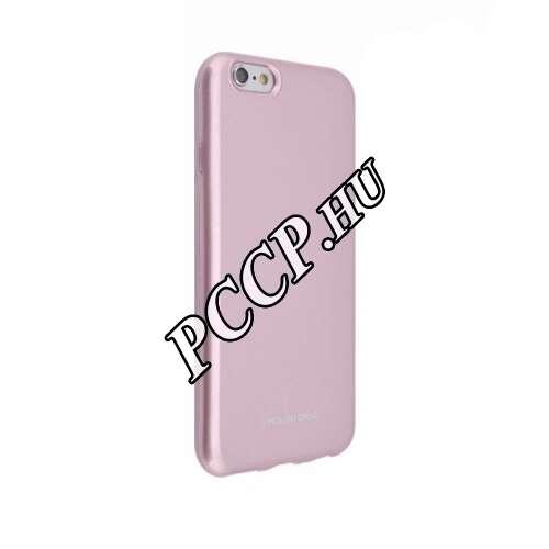 Apple Iphone XS rosegold szilikon hátlap