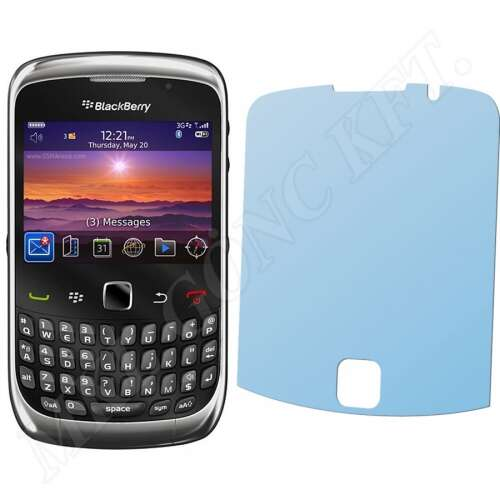 BlackBerry Curve 3G 9300 kijelzővédő fólia