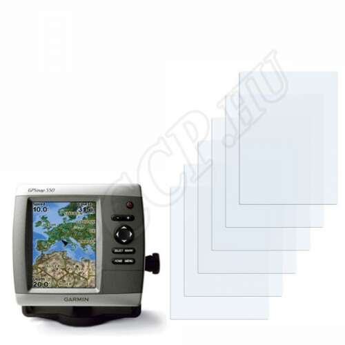 Garmin GPSMAP 550s kijelzővédő fólia