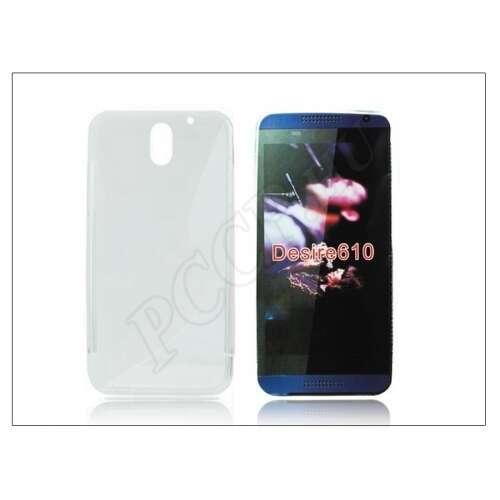 HTC Desire 610 átlátszó szilikon hátlap