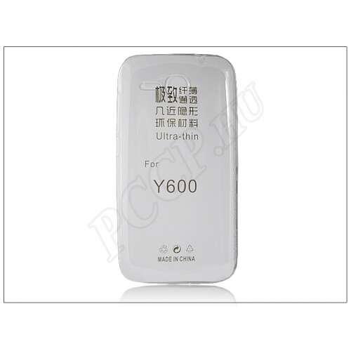 Huawei Ascend Y600 átlátszó szilikon hátlap