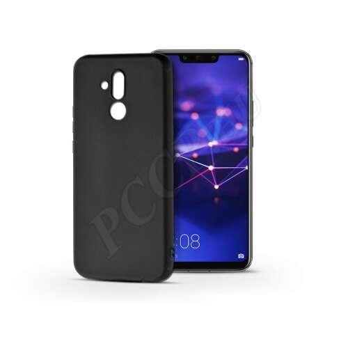 Huawei Mate 20 Lite fekete szilikon hátlap