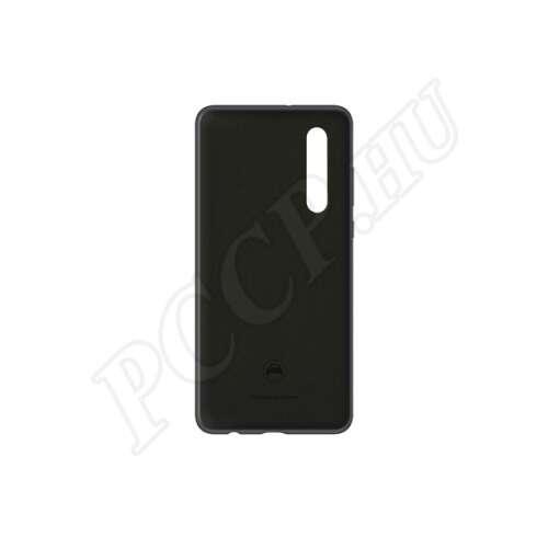 Huawei P30 fekete gyári szilikon hátlap