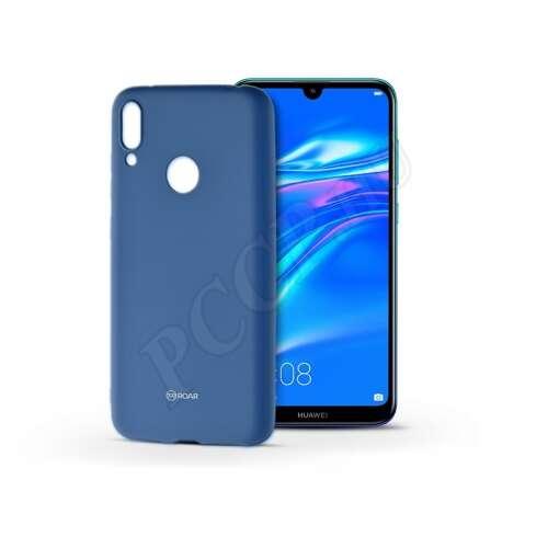 Huawei Y7 (2019) kék szilikon hátlap