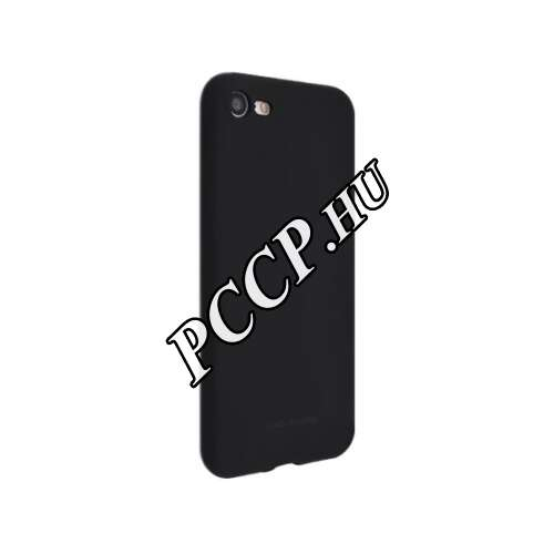 Huawei Y7 (2019) matt fekete szilikon hátlap
