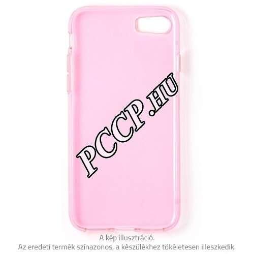Apple Iphone 8 Plus pink vékony szilikon hátlap