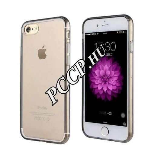 Iphone SE fekete szilikon hátlap
