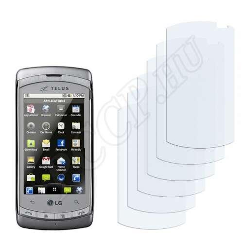 LG C710 Aloha kijelzővédő fólia