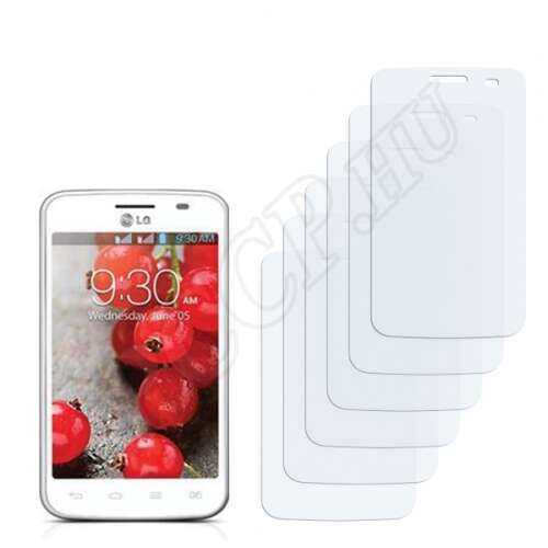 LG E435 Optimus L3 II Dual kijelzővédő fólia