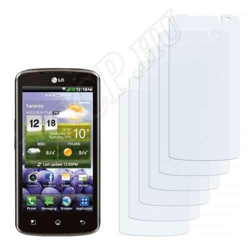 LG P936 Optimus True HD LTE kijelzővédő fólia