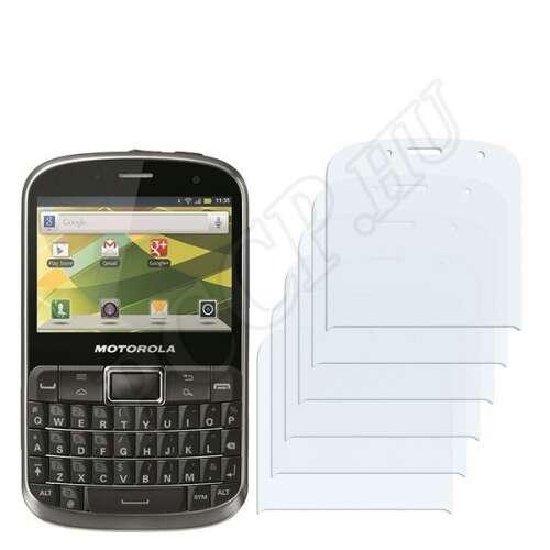 Motorola Defy Pro kijelzővédő fólia