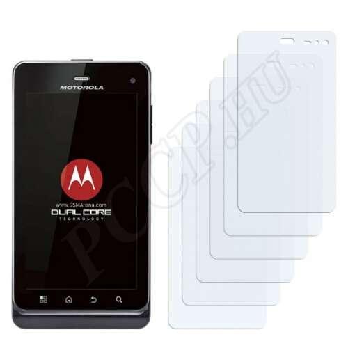Motorola Milestone 3 XT883 kijelzővédő fólia