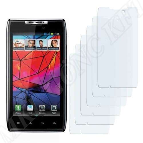 Motorola Razr 1 XT910 kijelzővédő fólia