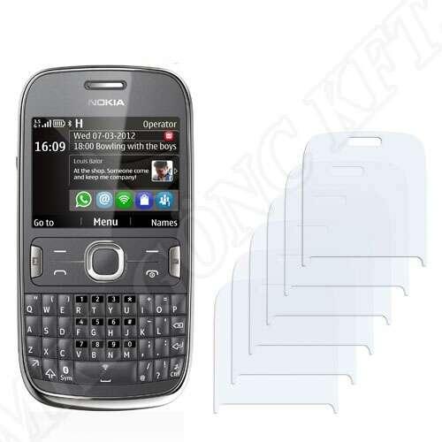 Nokia Asha 302 kijelzővédő fólia