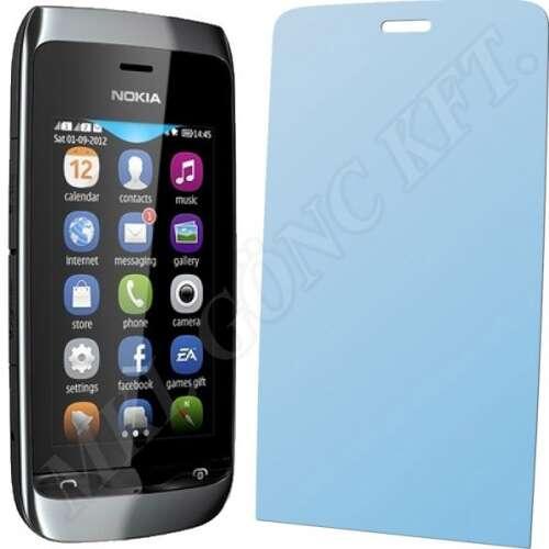 Nokia Asha 308 kijelzővédő fólia