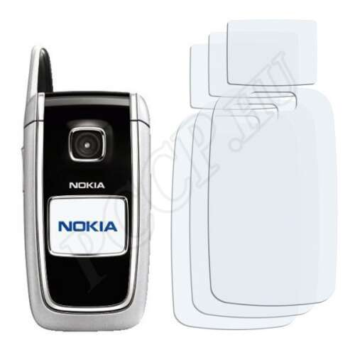 Nokia 6101 kijelzővédő fólia