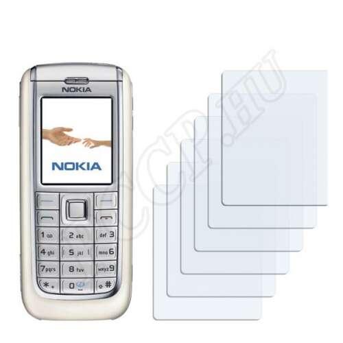 Nokia 6151 kijelzővédő fólia