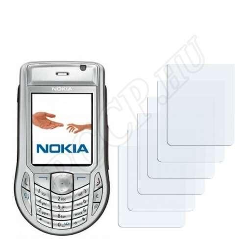 Nokia 6630 kijelzővédő fólia