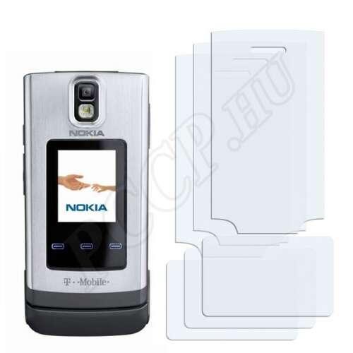 Nokia 6650 fold kijelzővédő fólia