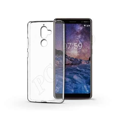 Nokia 7 Plus átlátszó szilikon hátlap