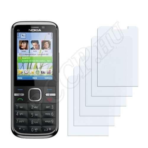 Nokia C5-00 kijelzővédő fólia