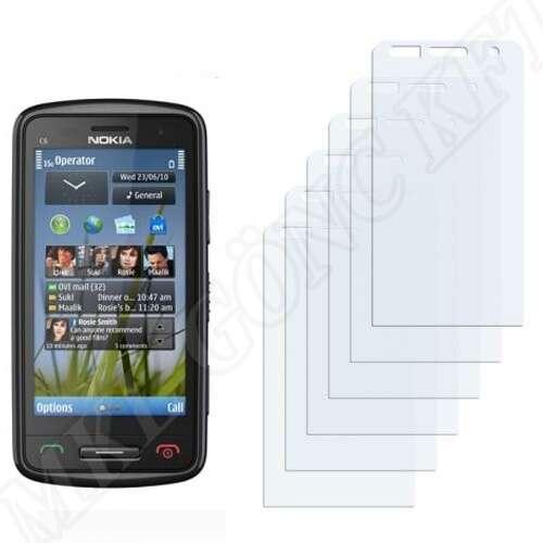 Nokia C6-01 kijelzővédő fólia