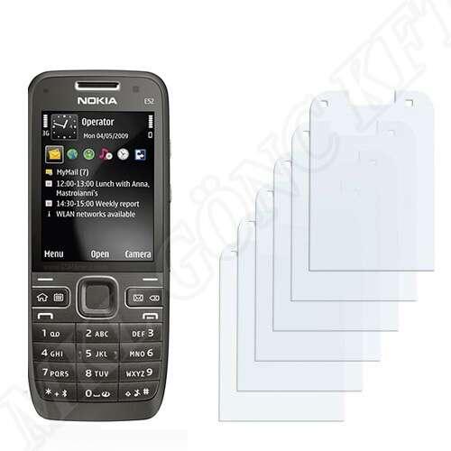 Nokia E52 kijelzővédő fólia