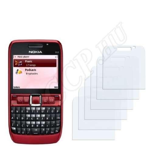 Nokia E63 kijelzővédő fólia