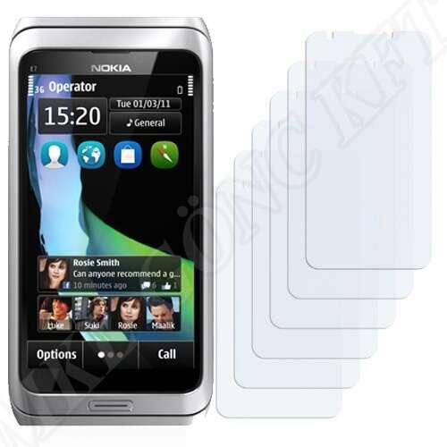 Nokia E7 kijelzővédő fólia