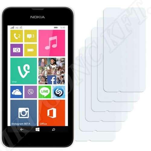 Nokia Lumia 530 kijelzővédő fólia