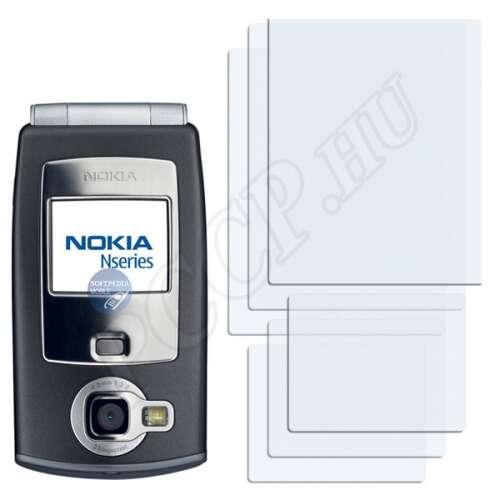 Nokia n71 kijelzővédő fólia