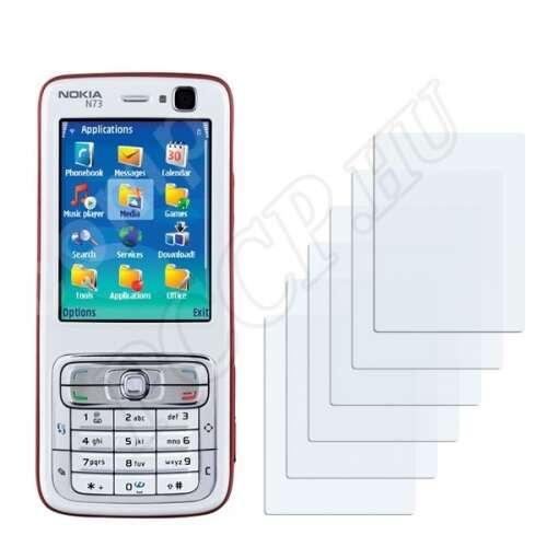 Nokia n73 kijelzővédő fólia