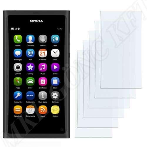 Nokia N9 kijelzővédő fólia