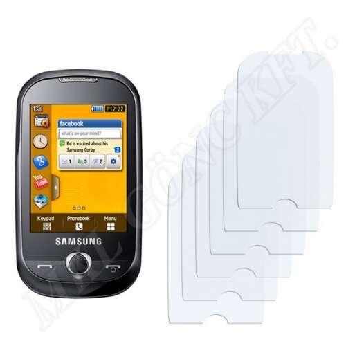 Samsung Corby (S3650) kijelzővédő fólia