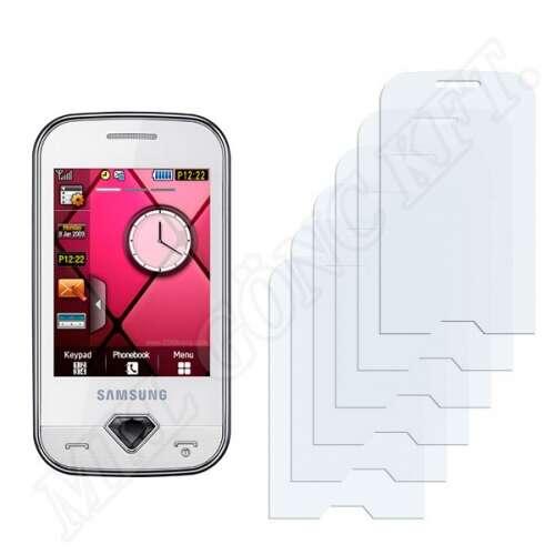 Samsung Diva (S7070) kijelzővédő fólia