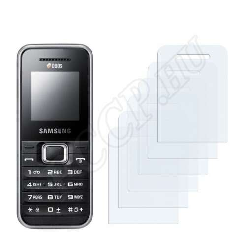 Samsung DuoS GT-E1182 kijelzővédő fólia