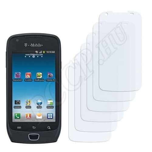 Samsung Exhibit 4G kijelzővédő fólia