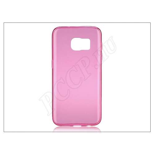 Samsung Galaxy S7 pink szilikon hátlap