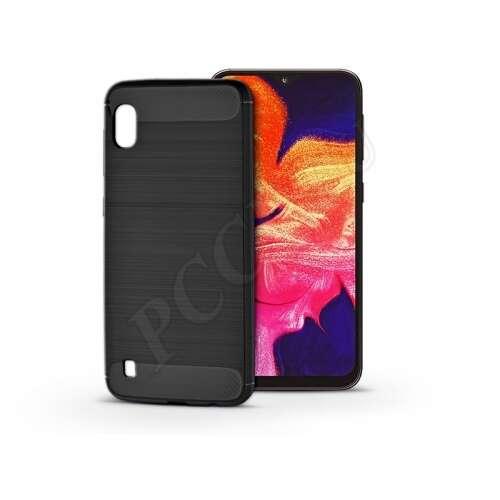 Samsung Galaxy A10 fekete szilikon hátlap