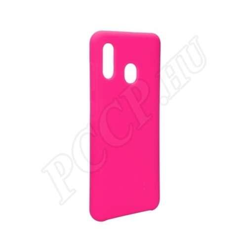 Samsung Galaxy A30 rózsaszín szilikon hátlap