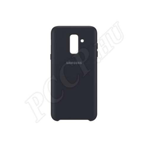 Samsung Galaxy A6 Plus fekete gyári hátlap