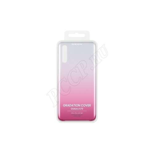 Samsung Galaxy A70 pink hátlap